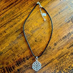 Brighton Interlok Lace Necklace & Post Earrings